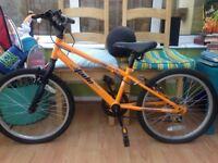 Bike for approx 6-8 yrs old. Brilliant bike.