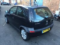 2003 Vauxhall Corsa 1.2cc petrol,9 months mot,excellent runner,alloys,2 keys,87k,cd,clean,economical