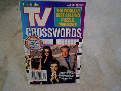 1998 PRETENDER TV CROSSWORDS PUZZLE MAG.Michael T.Weiss,Andrea Parker,P.Bauchau