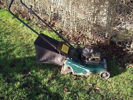 Hayter 41 Petrol Rotary Hand Push Lawnmower