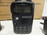 Kenwood TH-7Fe ham radio dualband handheld