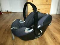 Mamas & Pappas Cybex Aton Q baby carrier/car seat with Isofix base & pram adapters