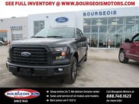 2016 Ford F-150 XLT SPECIAL EDITION 4X4 CREW 5.5' BOX REMOTE STA