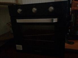 Gas single oven