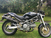 DUCATI MONSTER 620S DARK, 3K MILES, FULL SERVICE HISTORY, ONE OWNER, IMMACULATE