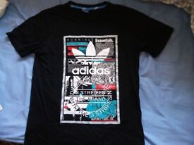 Mens T-shirts 2 adidas, 1 nike, 1 adidas cap (t-shirts large size)