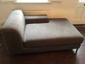 Chaise Lounge Sofa - grey