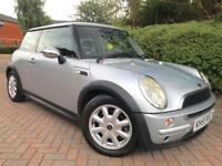 MINI Hatch 1.4 ONE D 3 DOOR SILVER FULL LEATHER INTERIOR SERVICE HISTORY ALLOYS
