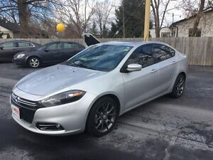 2013 DODGE DART SXT/RALLYE- BACKUP SENSORS, REMOTE START, BLUETO