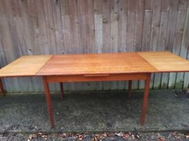 Danish style extendable dining table