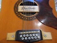 nice vintage eko 12st guitar