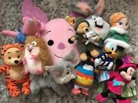 DISNEY / KIDS PLUSH / SOFT TOYS COLLECTION
