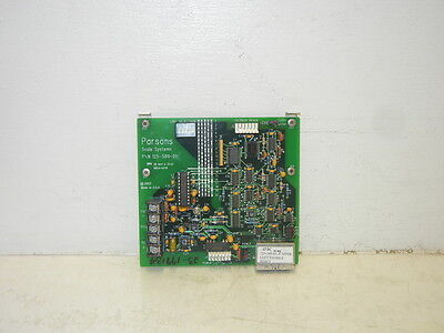 Parsons 125-589-01 Used Scale Systems Board 12558901