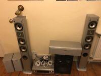 Quadral Speaker System / Denon Reciever / Jamo Subwoofer
