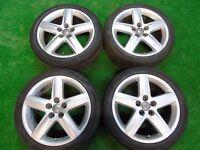 "GENUINE AUDI A1, A2, A3, TT, VW GOLF MK4, BEETLE BORA 17"" inch ALLOY WHEELS"