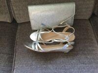 Sandals & bag