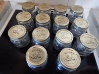 15 storage jars