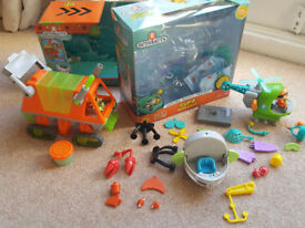 Octonauts Bundle - inc Gup F build-a-gup, Gup H toy, Gup T toy