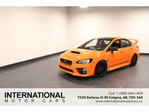 2015 Subaru WRX STi CUSTOM ORANGE