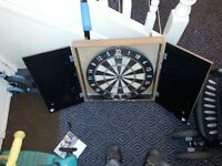 Pub dart board in box ready to hang