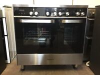 Kenwood range electric cooker CK409ST induction hob 90cm black 3 months warranty free local delivery