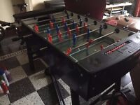 1.2m long table football FREE, pick up required. Good condition
