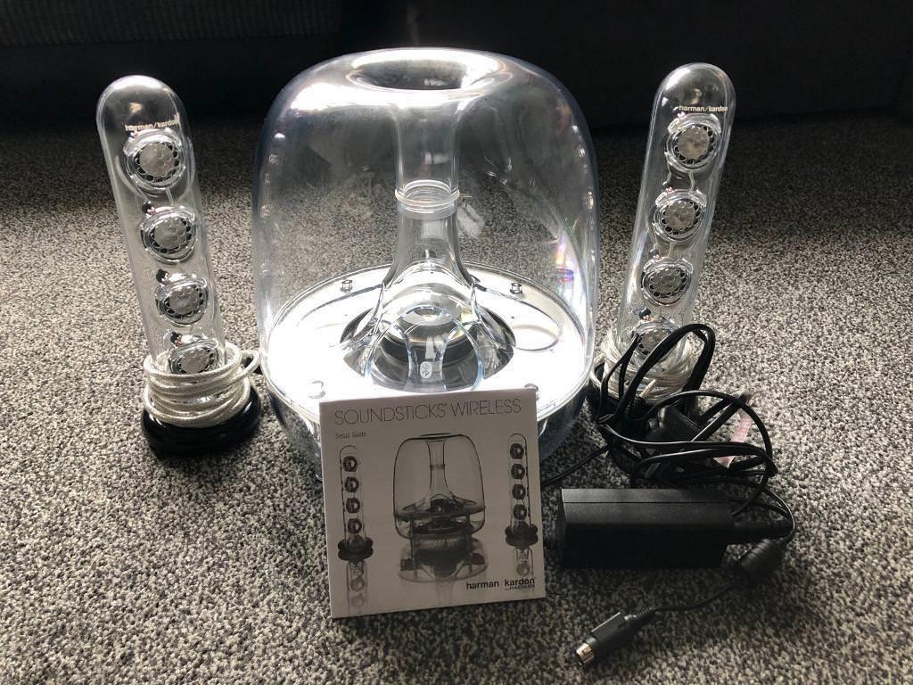 Harman Kardon Wireless SoundSticks excellent condition | in Richmond, on