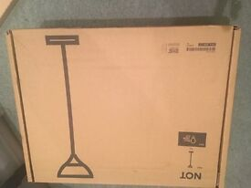 Brand New IKEA NOT Black Floor Uplighter Lamp