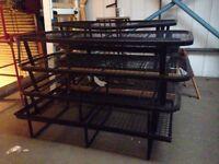 Black Steel Single Bed Frames