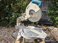 Makita ls1214 sliding mitre saw/chop saw 240v