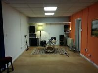 Rehearsal/Practice Space for Bands and Musicians