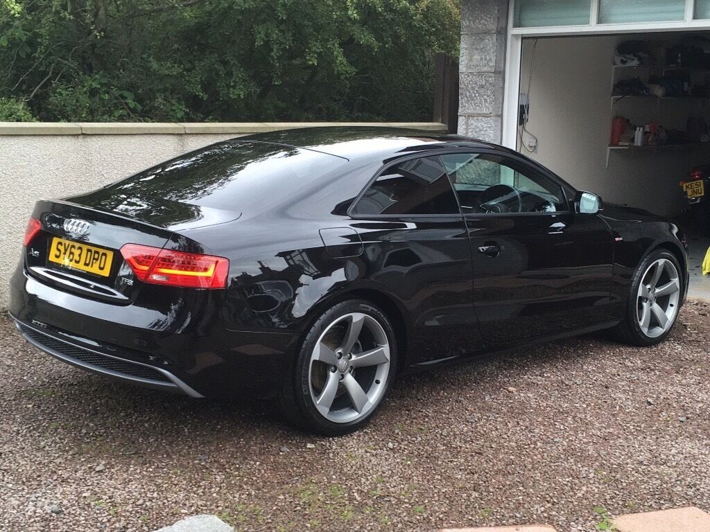 2013 audi a5 black edition in aberdeen gumtree. Black Bedroom Furniture Sets. Home Design Ideas