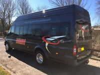 2010 Ford Transit T430 High Roof 17 seater Minibus with COIF