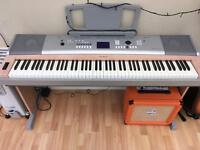 Yamaha Portable Grand DGX-620 weighted keys piano / keyboard with stand