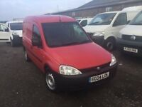 2004 VAUXHALL COMBO DIESEL VAN ULTRA RELIBLE MOT READY FOR WORK VERY ECONOMICAL ANYTRIAL WELCOME