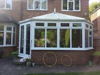 Large Conservatory - attractive classic white Victorian style