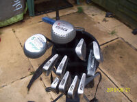 Used Golf Clubs, Bag and Trolley