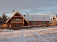 Stunning House with views to match near Balblair, Black Isle