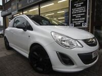 VAUXHALL CORSA 1.2 i 16v Limited Edition 3dr (a/c) (white) 2012