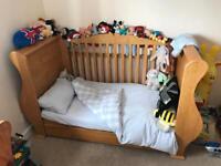 John Lewis tutti bambini sleigh nursery set