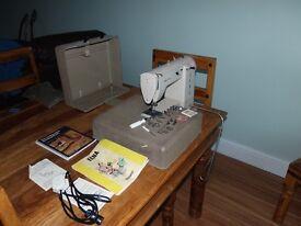 1960s Vintage Elna Zig-Zag Sewing Machine