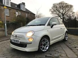 2009 Fiat 500 3dr 1.4 SPORT hatchback 12 month mot high spec