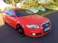 AUDI A6 2.7 DIESEL LE MANS AUTOMATIC 2007(57) FULL HISTORY 10 STAMPS LONG MOT VERY CLEAN HEATED SEAT