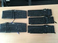 5 Dell Keyboards