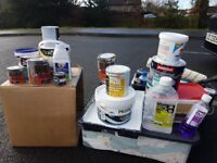 Paints & Painting Supplies mixed lot