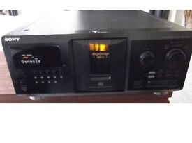 SONY CDP-CX355 300-disc CD player with remote control