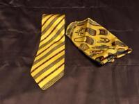 Tie & handkerchief set