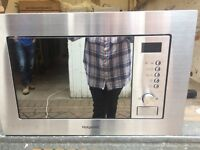 Hotpoint Built in Microwave / Grill New and Unused