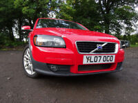 07 VOLVO VC30 SE DIESEL 1.6,MOT JULY 018,3 OWNERS FROM NEW,FULL HISTORY,LOVELY EXAMPLE,RELIABLE CAR