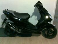 Peugeot, speed fight 50cc can do 50mph!